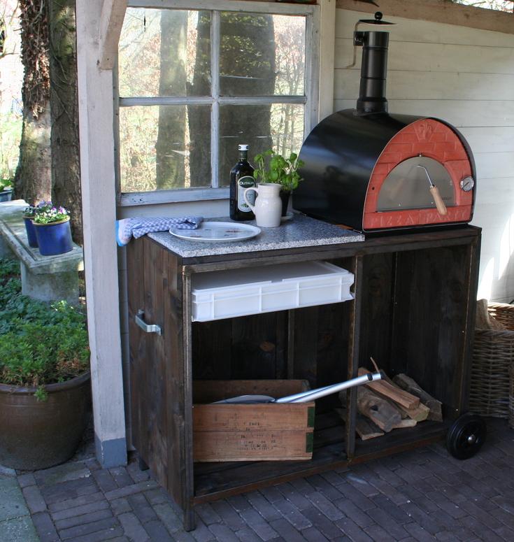 Nieuw modulo2 buitenkeuken met pizzaoven for 2e hands meubels